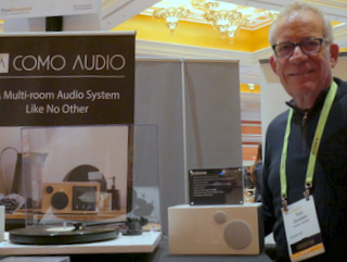 Como Audio Founder Tom DeVesto(Techstination photo by L. Fishkin)