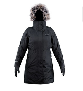 FNDN heated parka with built in heated gloves