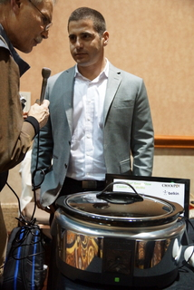 Ohad Zeira of Belkin Linksys with new connected CrockPot