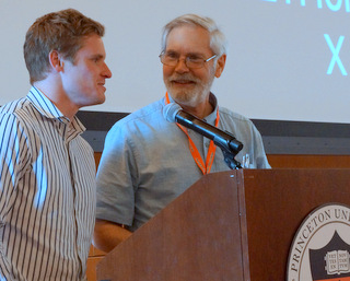 Will Ford with Fred Fishkin at Princeton SelfDrivingCars Summit (Techstination photo by L. Fishkin)